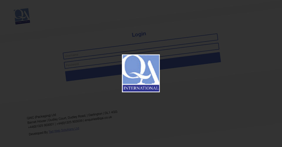 QA International Online Software Developed by Tad Web Solutions