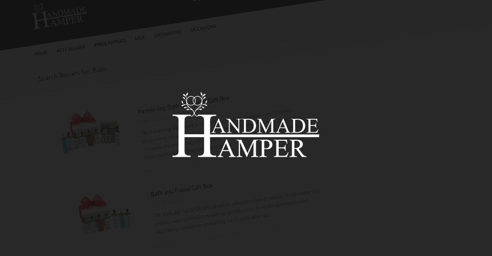 Handmade Hamper eCommerce Website by Tad Web Solutions