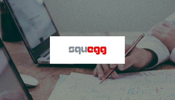 Squegg branding
